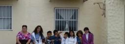 Alumnos de la Escuela del Riacho exponen muestra de fósiles en el Centro de Visitantes