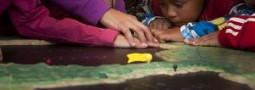 La Peninsula se vistio de Braille para los alumnos de la Escuela 524