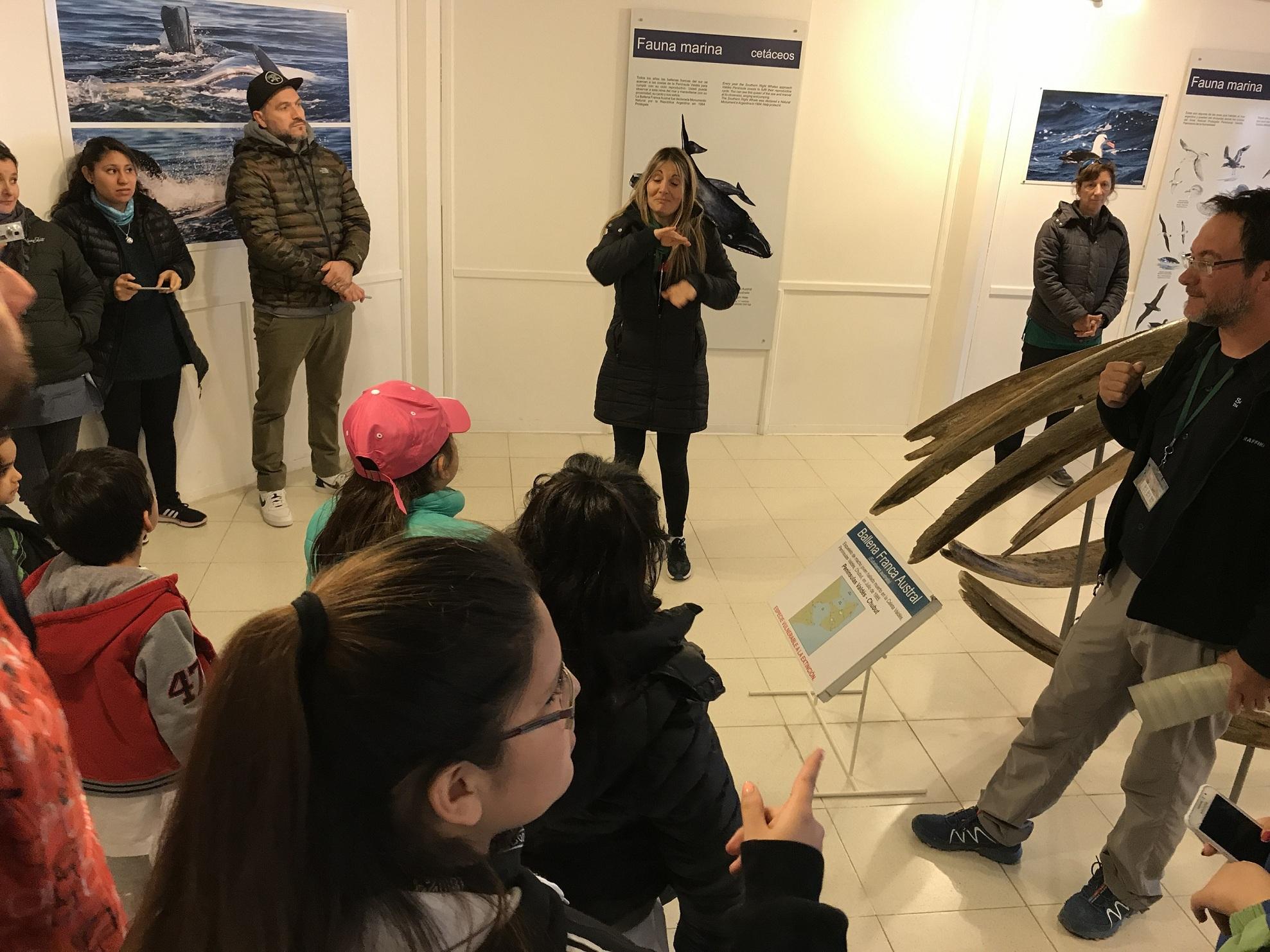Alumnos de la Escuela 516 visitaron Península Valdés